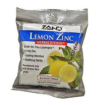 Zand Herbalozenge Lemon-Zinc, 15 LOz