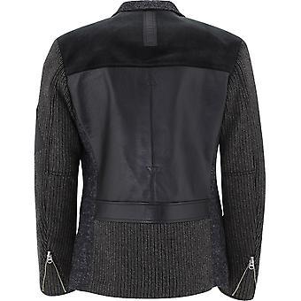 Junya Watanabe Wfj020w20 Men's Grey Wool Blazer