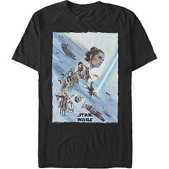 The Rise Of Skywalker Resistance Poster Star Wars T-Shirt