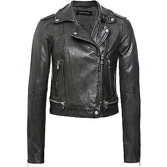Oakwood Kyoto Leather Biker Jacket