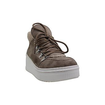 Madden Girl Women's Shoes Teerra Fabric Hight Top Lace Up Fashion Sneakers