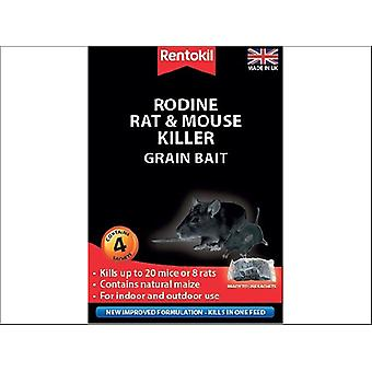 Rentokil Rodine Rat & Mouse Killer Grain x 4 PSMR12