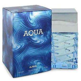 Ajmal Aqua Tekijä Ajmal Eau De Parfum Spray 3.4 Oz (miehet) V728-550583