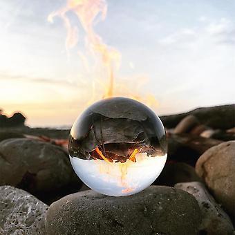Crystal Ball Quartz Glass Clear Spheres Photography Craft Decor Feng