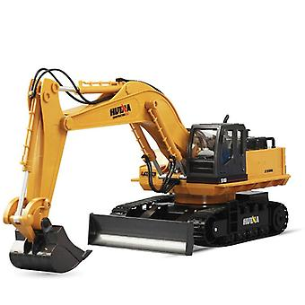 Rc Excavator Car Remote Control Digger Truck Electronic Heavy Machinery Toy
