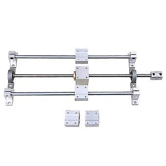 Set di accoppiamento orizzontale T8 Lead Rod SCS8UU Linear Bearing D20L25