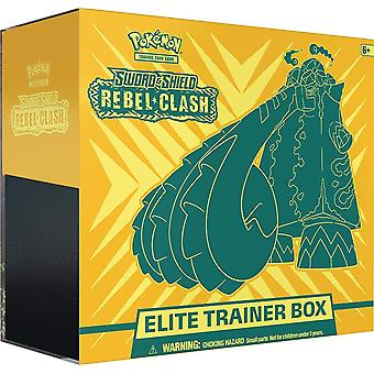 Pokemon TCG Sværd & Skjold 2 Rebel Clash Elite Træner Box