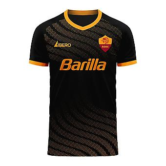 Roma 2020-2021 Fourth Concept Football Kit (Libero) - Kids