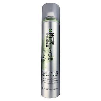 Matricial biolage shampoopoo seco sem água limpo e completo 3.4 oz