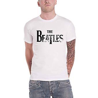 The Beatles Drop T Logo Washington DC Skyline Official Mens New White T Shirt