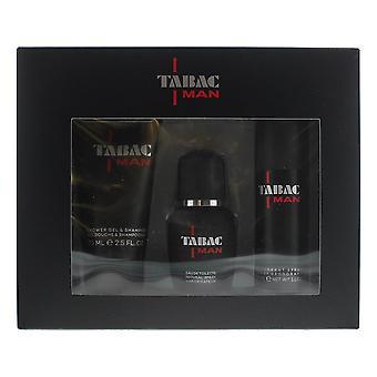 Tabac Man Eau de Toilette 30ml, Shower Gel 75ml & Deodorant Spray 50ml Gift Set