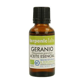 Organic Geranium Essential Oil 30 ml of essential oil