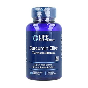 Curcumin Elite Turmeric Extract 60 vegetable capsules