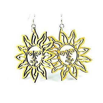 Sun Earrings # 1004