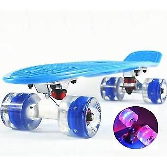 スケートボード小さなスケートボードシングルバナナロングボード大人スケートボード