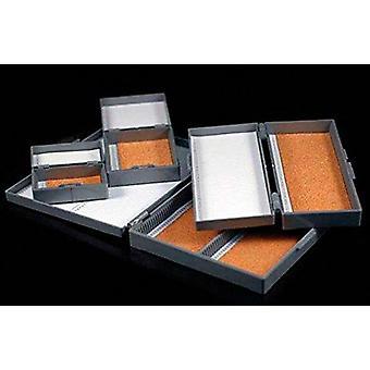 Dutscher 390855 κουτιά abs για διαφάνειες μικροσκοπίας - χωρητικότητα: 12 διαφάνειες