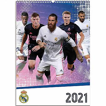 Real Madrid CF 2021 A3 Calendar