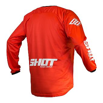 2020 Shot Devo MX Jersey Adult - Raw Red