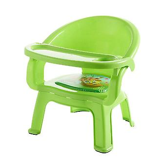 Children's Dining Chair With Plate Baby Eating Table