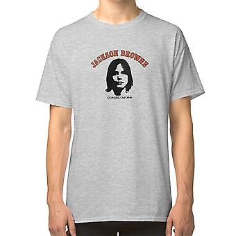 Jackson Browne Los Angeles T Shirt Soft Rock Klassisk Rock