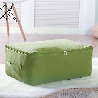 Oxford Clothing Storage Box Bedding Item Packing Bag & Durable Quilt Box Zipper