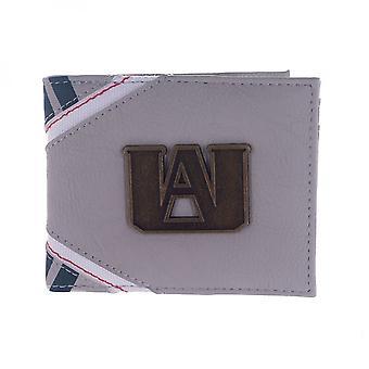 My Hero Academia Metal Badge Bi-fold Wallet