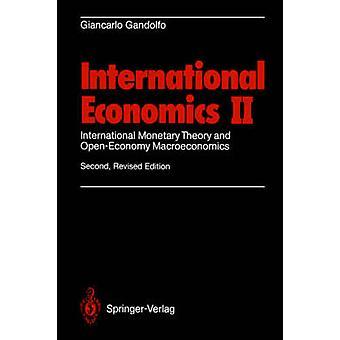 Kansainvälinen taloustiede II - Kansainvälinen valuuttateoria ja avoin talous