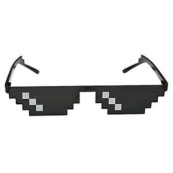 8 Bit thug life pixelated uv protective sunglasses