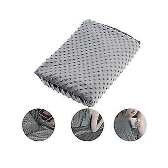 Reduce Anxiety Weighted Blanket Cover Adult Sensory Therapy Deep Sleep