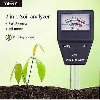Bodenfruchtbarkeitsanalyse Gartenbauboden pH-Meter