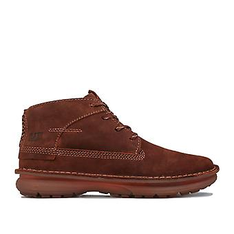 Men's Caterpillar Quartz Hi Boots in Brown