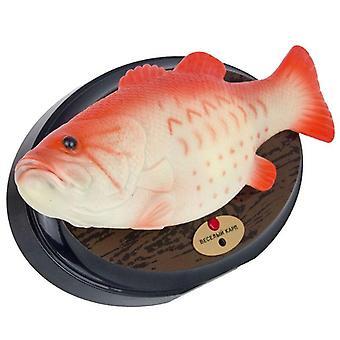 مضحك الإلكترونية الغناء البلاستيك بطارية السمك الروبوت بالطاقة