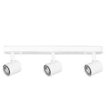 Forlight Keeper Triplex - Kolminkertainen säädettävä spotti GU10 Valkoinen