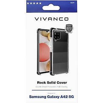 Vivanco Rock Solid Back cover Samsung Black, Transparent