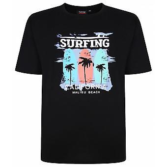 ESPIONAGE Espionage Mens Big Size Summer Crew Neck T Shirt