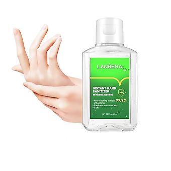 Gel de lavagem sem água de desinfetante para as mãos