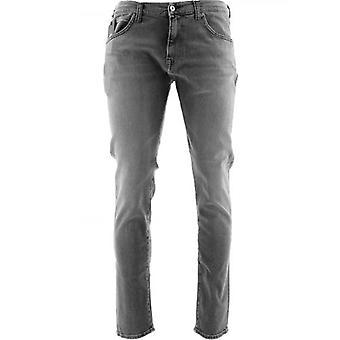 Edwin ED-85 Grey Slim Tapered Drop Crotch Jean