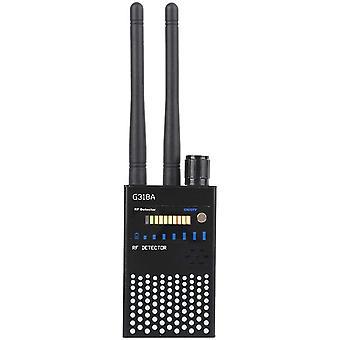 Anti Spy Detector, Mobile Signal Detector GPS Tracer Finder Spy Scanner for 110-220V Wireless Hidden Camera Detector (black)