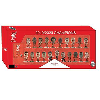 SoccerStarz Liverpool Team Pack 21 Figure (2019/20 Celebration)