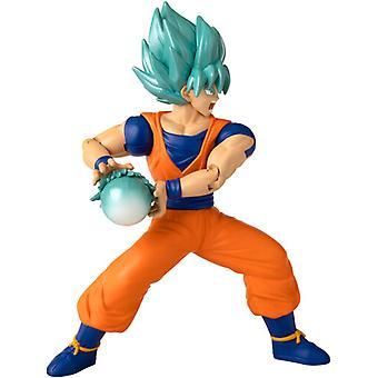 Attack Collection Super Saiyan Blue Goku 7in Fig USA import