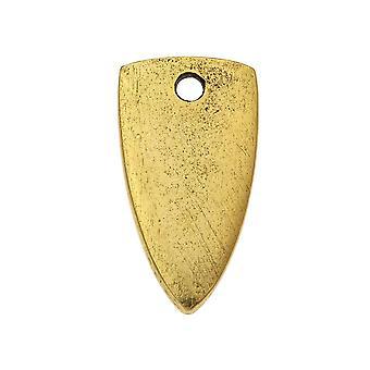Nunn Design Flat Tag Riipus, Mini Nuolenpää 10x18mm, 1 kpl, Antiikki kultaa