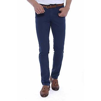 6 Pockets navy pants