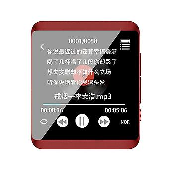 Bluetooth Player Full Touch 8GB 16GB MP3(Red)