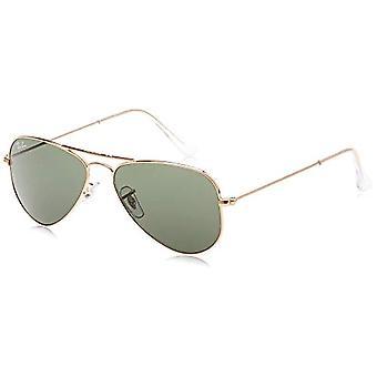 Ray-Ban Aviator Small Sunglasses, Gold, 52 mm Unisex-Adult