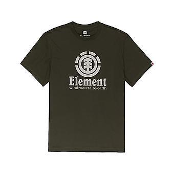 T-shirt à manches courtes verticale element dans Forest Night