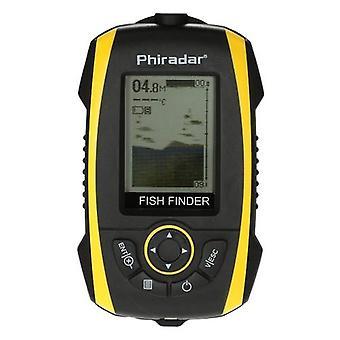 Přenosný detektor ryb LCD displej Sonar senzor měnič RybyVíce Ryby Alarm Indikátor hloubky Rybářský Finder Venkovní elektronické rybářské nástroje Zařízení