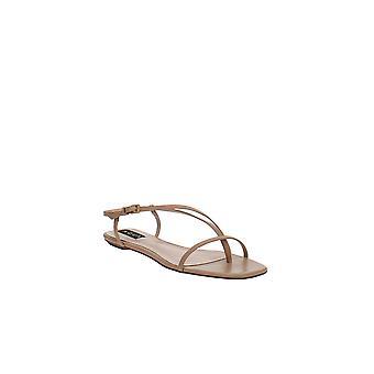 Aqua | Lory Flat Strappy Sandaler