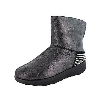 Fitflop Femmes Mukluk Shorty II Shimmer Rockstud Chaussures de bottes