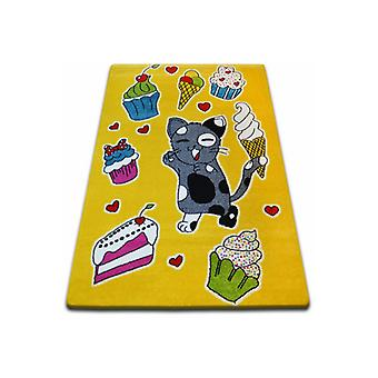 Rug KIDS Cookie yellow C415