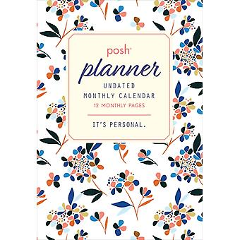 Posh Planner Undated Monthly Pocket Planner Calendar by Created by Andrews McMeel Publishing